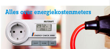 Alles over energiekostenmeters