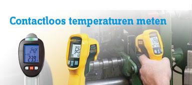 Contactloos temperaturen meten