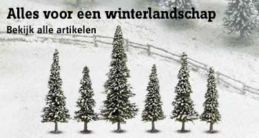 Alles voor een winterlandschap