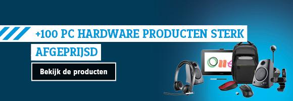 PC hardware sterk afgeprijsd!